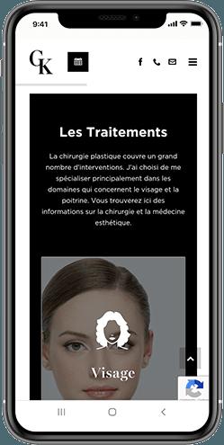 creation site internet chirurgie montpellier