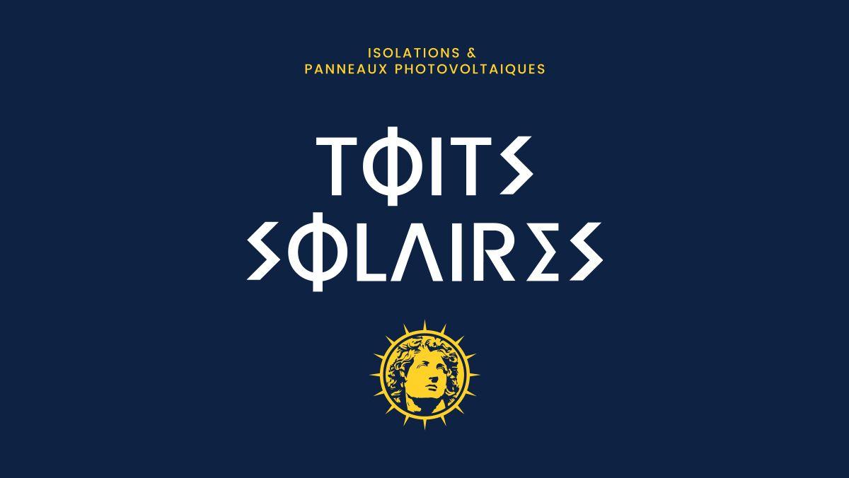 conception logo panneau photovoltaique montpellier