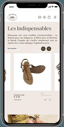 creation site web saint tropez