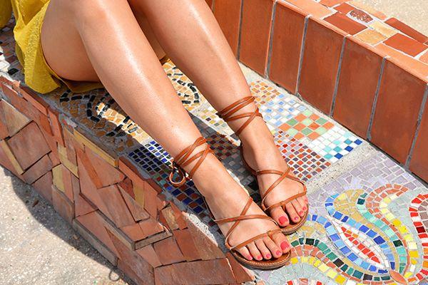 sandales tropeziennes rondini saint tropez