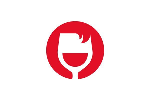 graphiste logo boutique vins