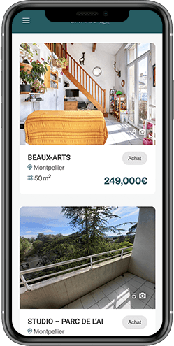 agence digitale site mobile immobilier montpellier