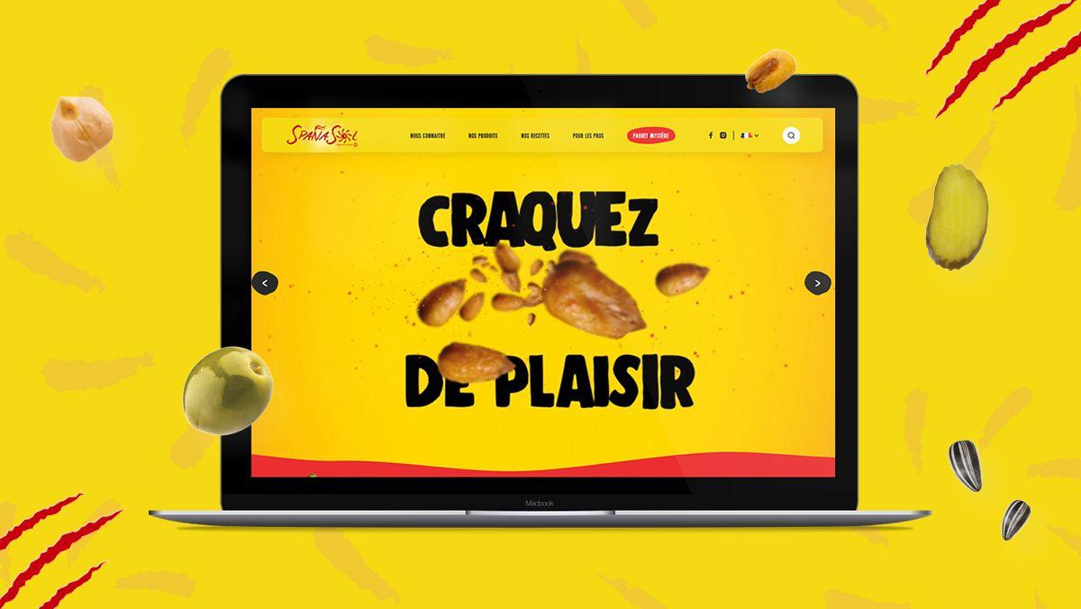 creation site internet produits alimentaires spanasol