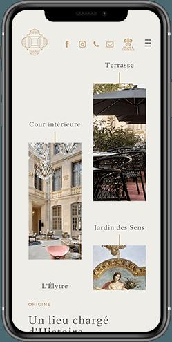 creation site responsive hotel richer de belleval montpellier